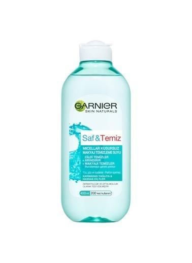 Garnier Saf & Temiz Micellar Kusursuz Makyaj Temizleme Suyu 400Ml Renkli